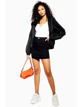 Petite Stretch Denim Joni Skirt by Topshop