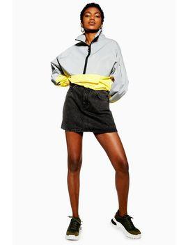 Acid Wash Denim Skirt by Topshop