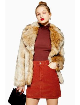 Tall Corduroy Skirt by Topshop