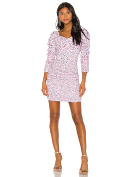 X Revolve Ruched Mini Dress by Nicholas