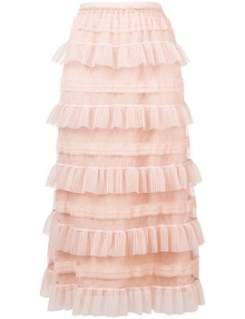 Ruffled Tiered Skirt by Red Valentino