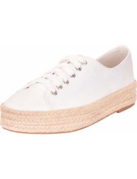 Cambridge Select Women's Low Top Lace Up Chunky Espadrille Flatform Fashion Sneaker by Cambridge Select