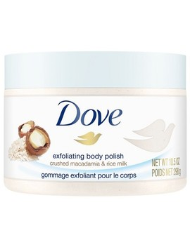 Dove Body Polish Macadamia &Amp; Rice Milk 10.5oz by Dove Beauty