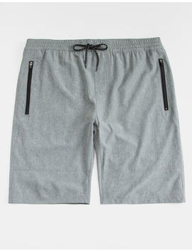 Nitrous Black On Top Charcoal Mens Jogger Shorts by Nitrous Black