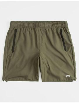 Rvca Yogger Iii Olive Mens Shorts by Rvca