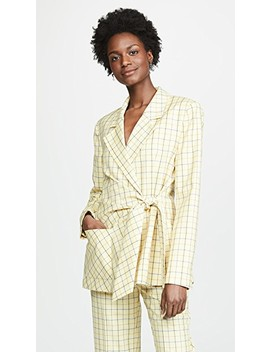 Wrap Jacket by Tibi