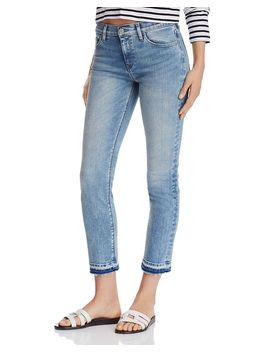 Nico Back Slit Jeans In Breakthrough by Hudson