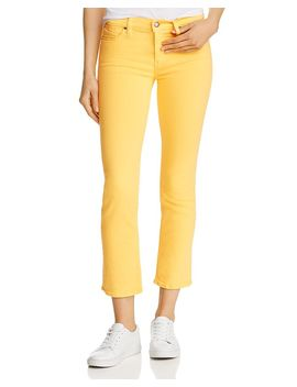Nico Straight Slim Jeans In Starburst by Hudson