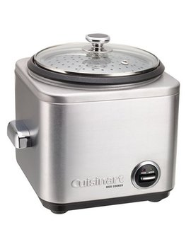 Cuisinart Crc 400 Rice Cooker, 4 Cup, Silver by Cuisinart