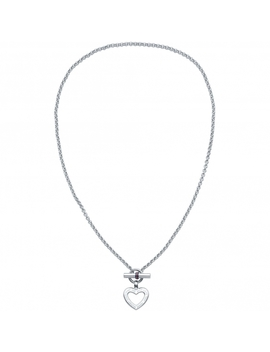 Tommy Hilfiger 2700277 Open Heart Stainless Steel Necklace by Tommy Hilfiger