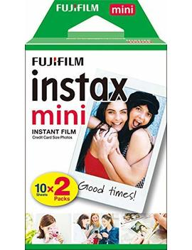 Instax Film Mini 20 Pk Suitable For Instax Mini Cameras Including 7 S ,25, 50 S, 8, 70 & 90, Also Share Printer Sp 2 ,Pack Of 2 X 10 Sheets (20 Sheets) by Instax
