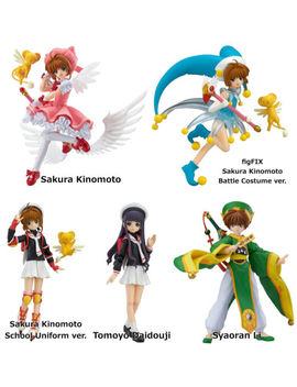 "Figma "" Cardcaptor Sakura "" Anime Ccs Action Figure Max Factory Clamp Kinomoto by Max Factory"