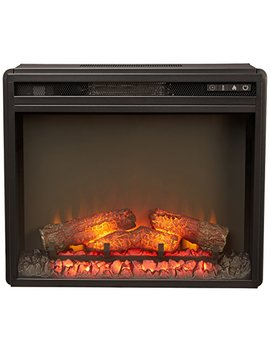 Ashley Furniture Signature Design   Small Electric Fireplace Insert   Includes Insert Only   Tv Stand Sold Separately   Black by Signature Design By Ashley