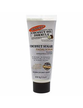 Palmer's Coconut Oil Formula, Sugar Facial Scrub Exfoliator | Polishes & Softens | Tube 3.17 Oz. by Palmer's