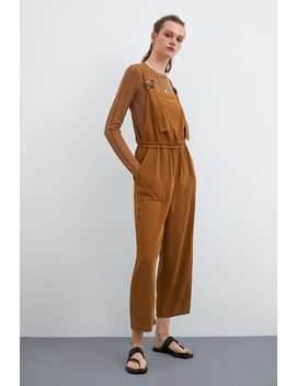 b0fb7d75 Shoptagr | Long Strappy Jumpsuit View All Dresses Woman by Zara
