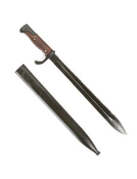 German M98/05 Butcher Sawback Bayonet With Scabbard  Gewehr 98 & K98k by Ima