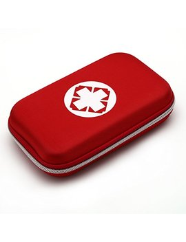 Foxde Tech Outdoor First Aid Case Kit Survival Pouch Treatment Emergency Rescue Medical Bag(Red) by Foxde Tech