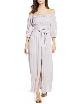 kylie-off-the-shoulder-midi-dress by lira-clothing