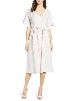 V Neck Dolman Sleeve Dress by Chelsea28