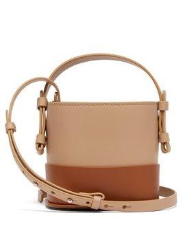 Ardenia Mini Leather Bucket Bag by Nico Giani