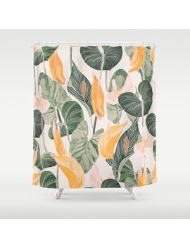 Lush Lily   Autumn Shower Curtain by Society6