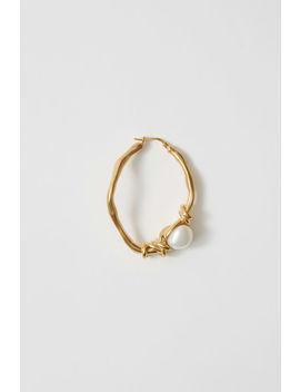 Handmade Earring Gold by Acne Studios