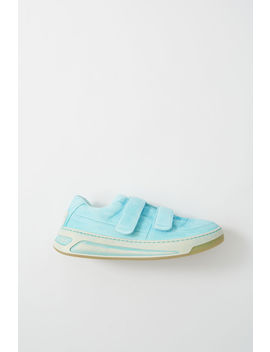 Velcro Sneakers  Aqua Blue by Acne Studios