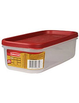 Rubbermaid Fg7 M7100 Chili 5 Cup Dry Food Container by Rubbermaid