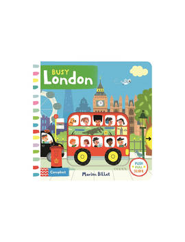 Busy London Children's Book by Macmillan