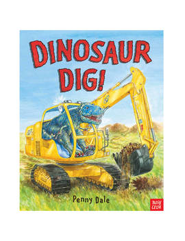 Dinosaur Dig Children's Book by Nosy Crow
