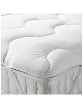 John Lewis & Partners Synthetic Soft And Light Mattress Topper by John Lewis &Amp; Partners
