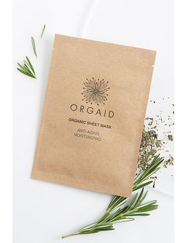Orgaid Antiaging &Amp; Moisturizing Organic Mask by Orgaid