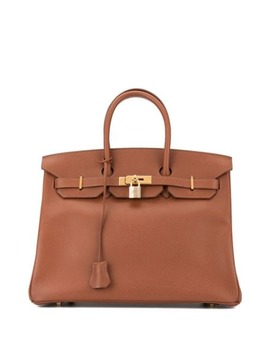 Birkin 35 Hand Bag Lisse by Hermès Pre Owned