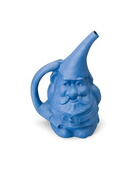 Novelty 30909 Gnute The Gnome Watering Can, Blue by Novelty